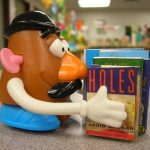 Mr. Potato Head Has His Nose in a Book